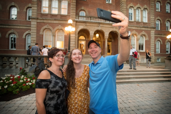 Washington and Jefferson College Move in day and matriculation 2018