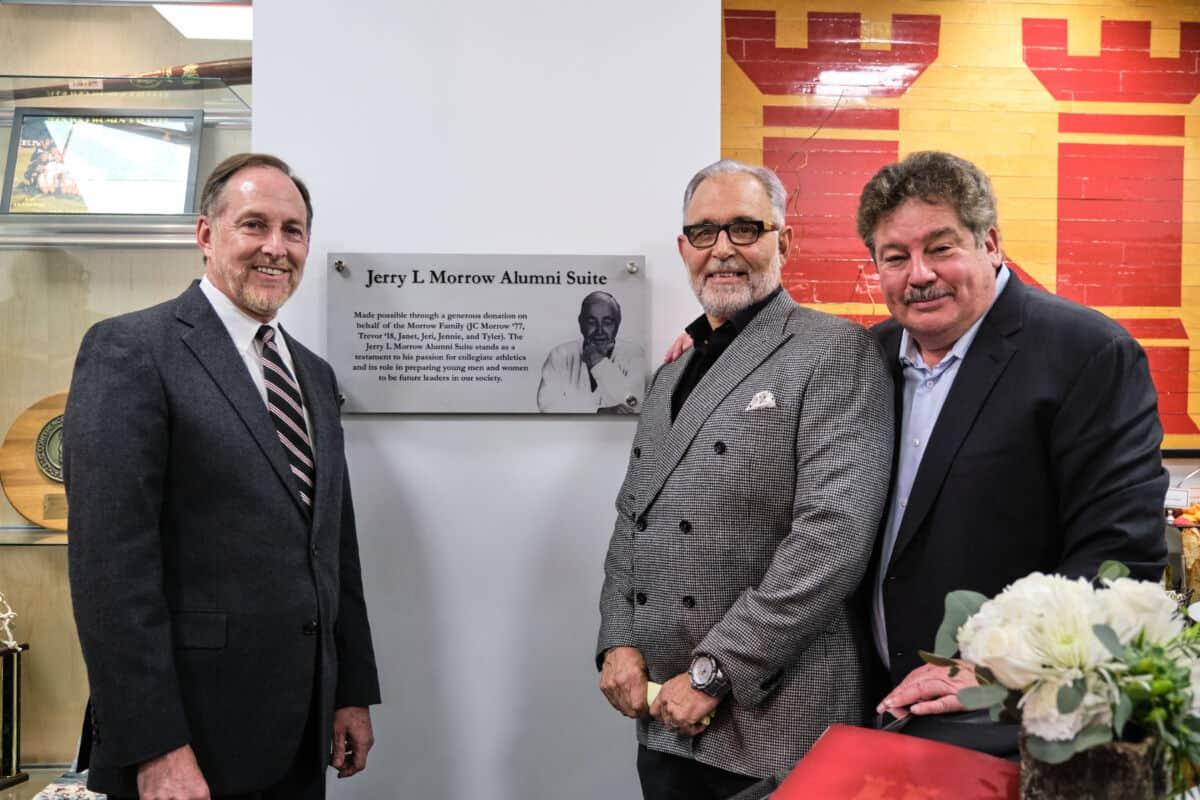 John C. Knapp David Ross and J.C. Morrow