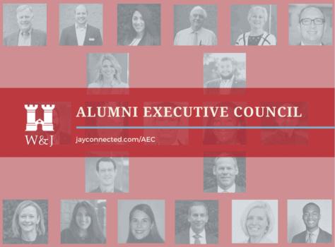 Photos of alumni executive council members