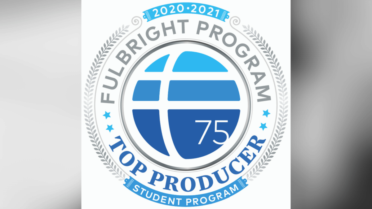 Fulbright logo for 2021