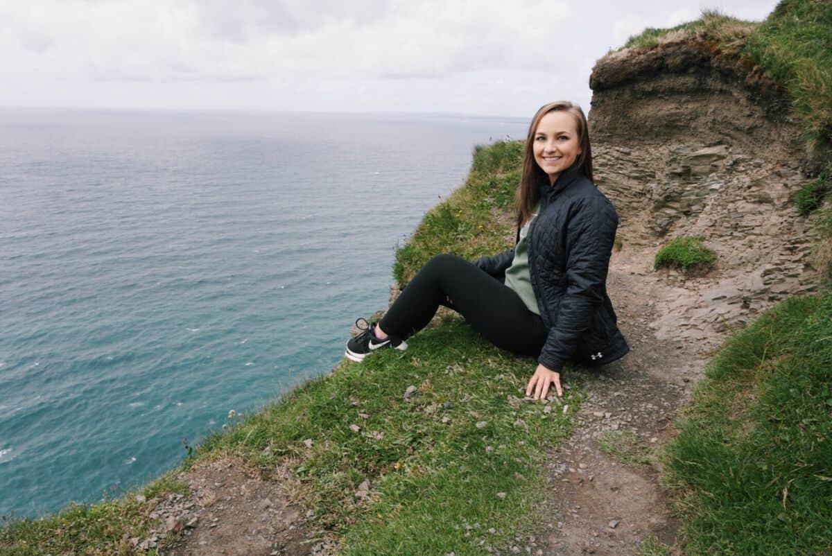 Megan Barrett in Ireland as part of her Magellan project
