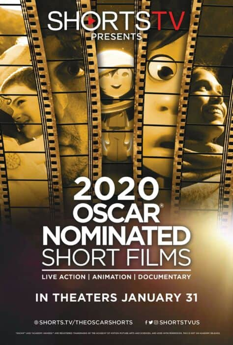Oscar Nominated Shorts Official Poster
