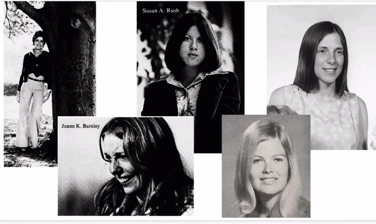 1970s First Women Alumni Yearbook photo