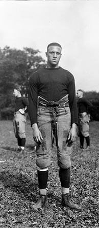 Charles West as a member of the W&J football team