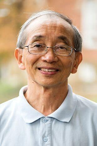 Roman Wong, Ph.D. portrait