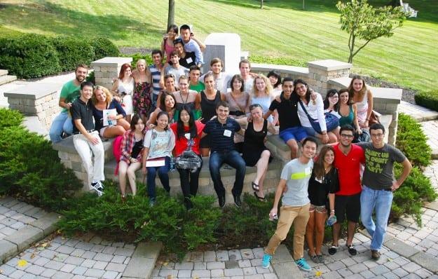 W&J exchange students 2013