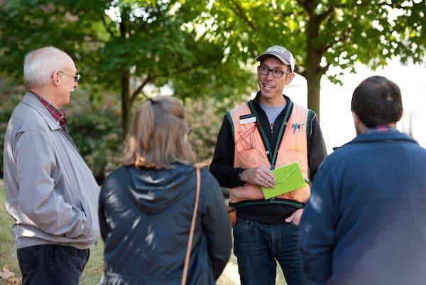 W&J Campus Arboretum tour in 2019