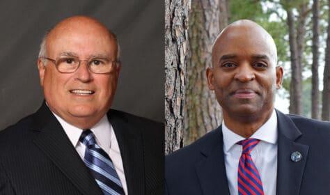 Richard Clark and Mark Johnson