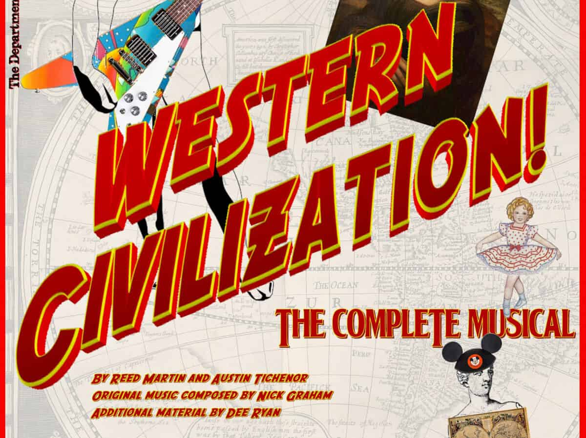Western Civilization cropped poster