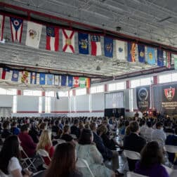 Matriculation Fall 2021 assembly