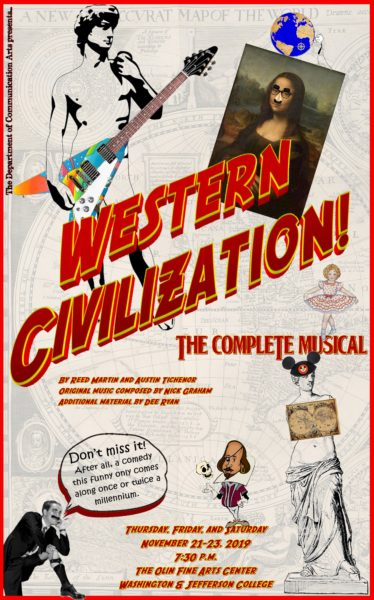 Western Civilization The Complete Musical poster